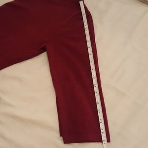 Spense Sweaters - 3 for $12 Lightweight knit, maroon sweater, med